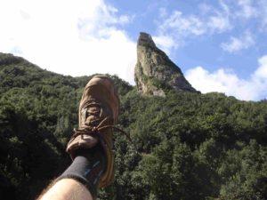 Berg und Fuß