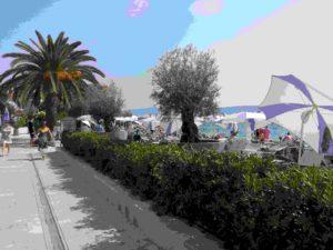 Hotel Palma Tivat Montenegro außen