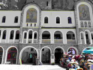 Kloster Ostrog in Montenegro Decken