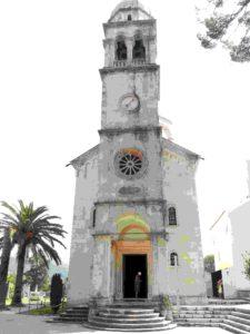 Die Klosterkirche von Savina in Herceg Novi