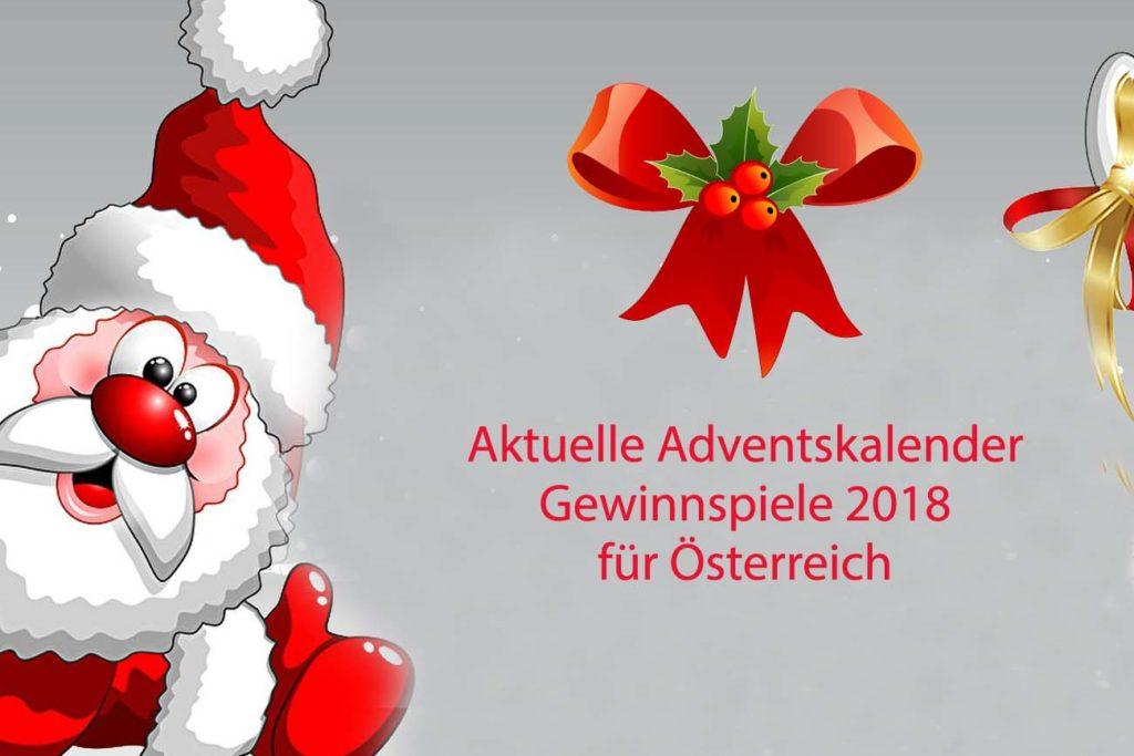 Aktuelle Adventskalender-Gewinnspiele für Österreich 2018 ...
